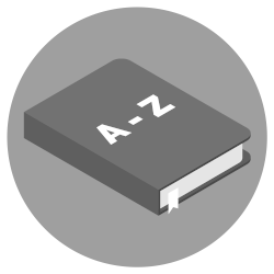 Icono de diccionario