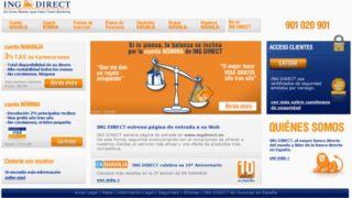 ING Direct estrena hoy nuevo diseño web