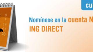Cuenta Nómina de ING Direct: tú domicilias la nómina e ING te devuelve el 2% de tus recibos
