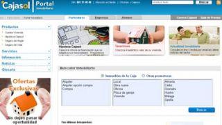 Nuevo portal inmobiliario de Cajasol, con cientos de viviendas a la venta