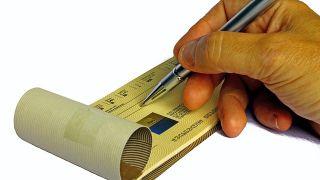 Problemas al cobrar un cheque