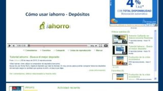 Canal Youtube de iahorro