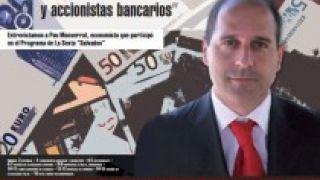 Entrevista sobre la banca del Colegio de Economistas de A Coruña