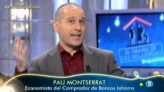Debate sobre los desahucios en Telecinco con iAhorro