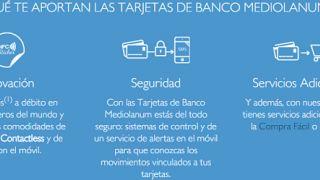 Banco Mediolanum con sus clientes de tarjeta