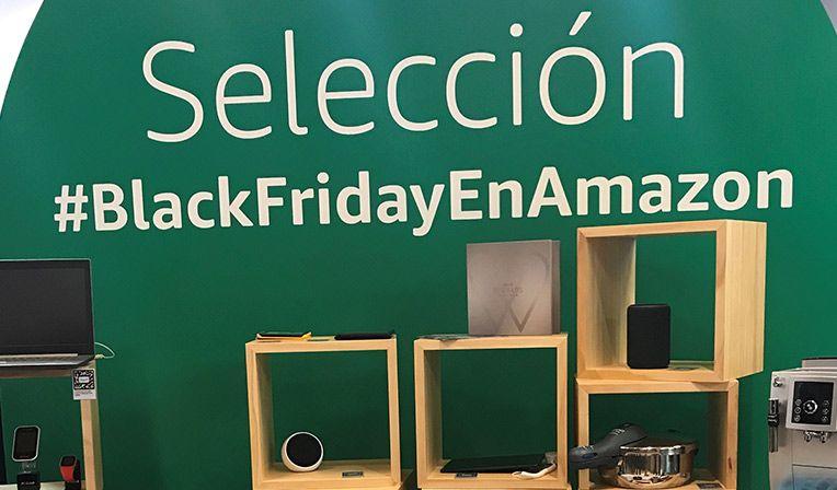Amazon, el gran comercio online, lanza una tienda física para apoyar sus ventas durante el Black Friday
