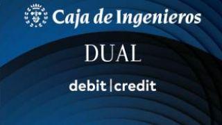 Así es la nueva tarjeta Dual de la Caja de Ingenieros
