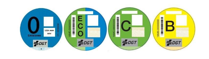 Cómo conseguir la etiqueta de la DGT para el coche