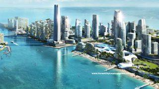 """Forest City, la ciudad gigante que quieren construir en Malasia los chinos, una """"nueva versión del colonialismo"""""""