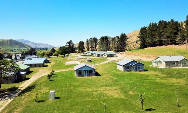 Vista aérea de Waitaki