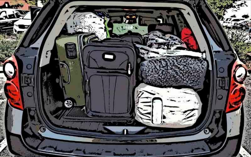 Cómo cargar el maletero del coche